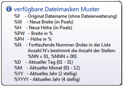 Variable Dateinamen
